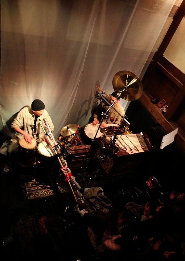 民族楽器演奏デュオ天鼓
